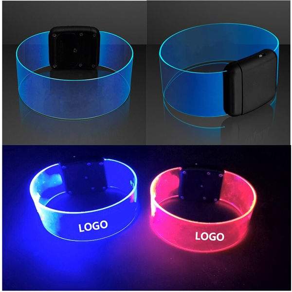LED Magnetic Clasp Bracelets