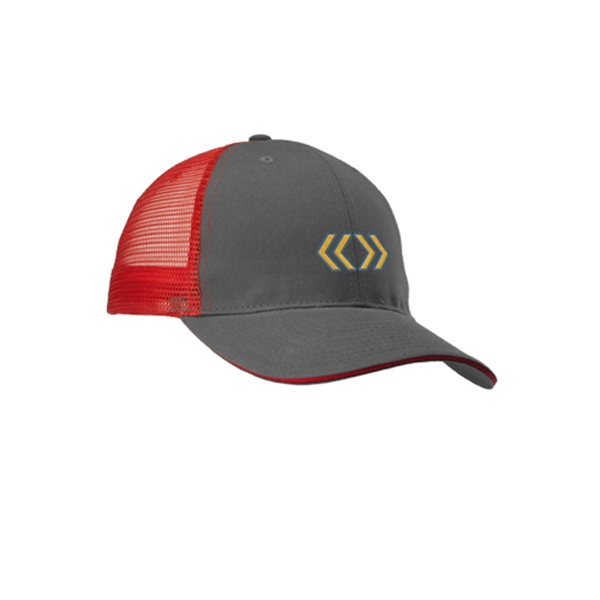 Mesh Trucker Hats with Two-Tone Color