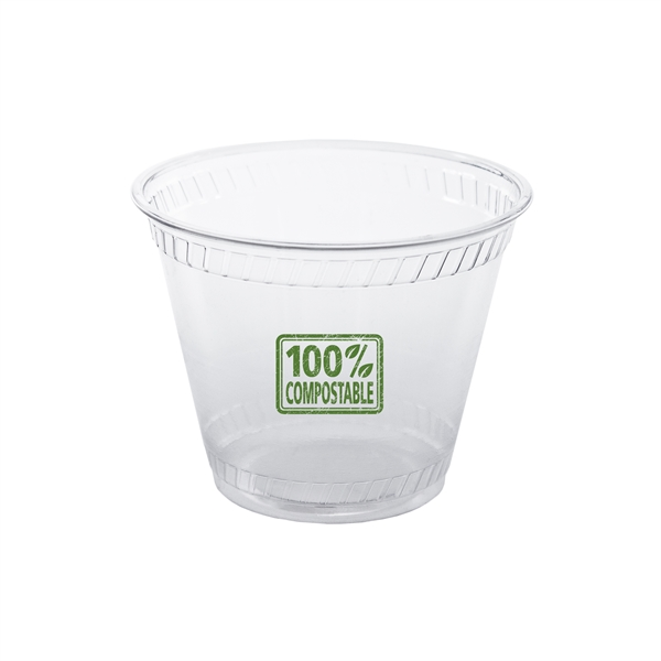 9 oz Greenware Squat Cup