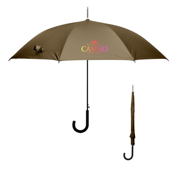 """46"""" Arc Matte Metallic Umbrella"""