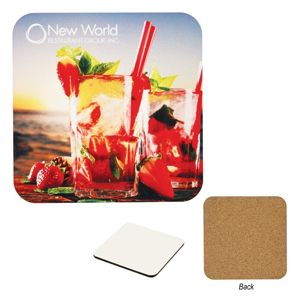 Full Color Square Coaster