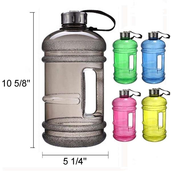 75 Oz Plastic Sports Kettle Water Bottle