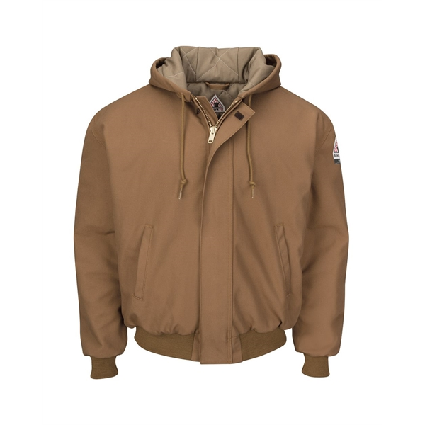 Bulwark Insulated Brown Duck Hooded Jack