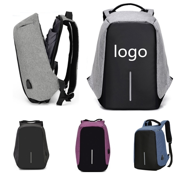 USB external charging travel backpack