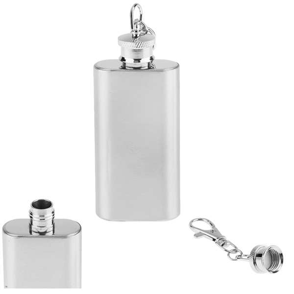 2 Oz Stainless Steel Flask