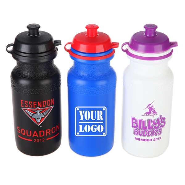 17Oz Cycle Bottles with Push Top