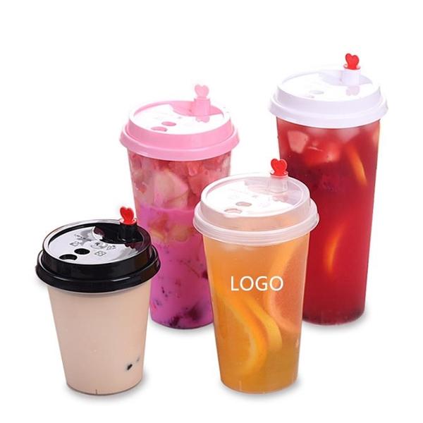Plastic Milk Tea Cup