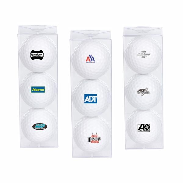 Economy Triple Golf Ball Pack
