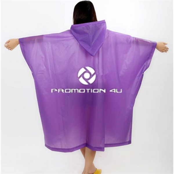 EVA Re-usable Rain Poncho