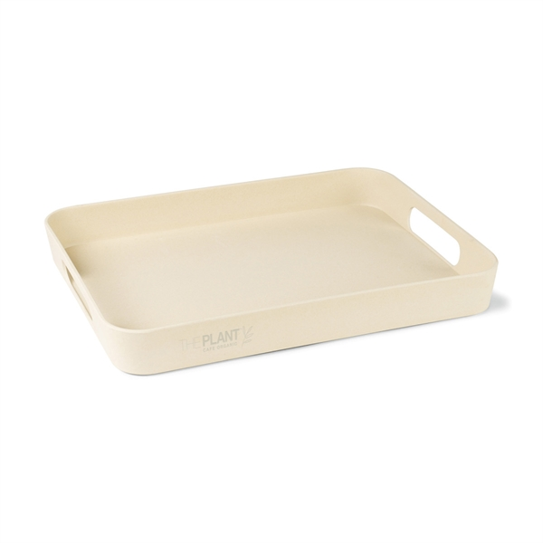 "Gaia Bamboo Fiber 16"" Serving Tray"