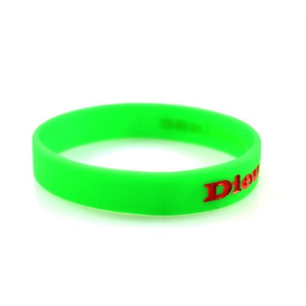 Silicone Wristbands with Debossing