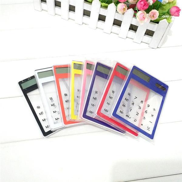 Mini Advertising Calculator Transparent Solar Calculator