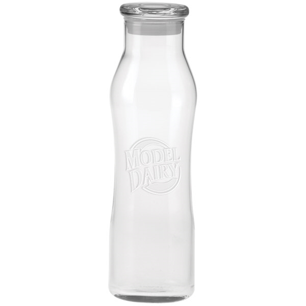 The Curve Glass Water Bottle