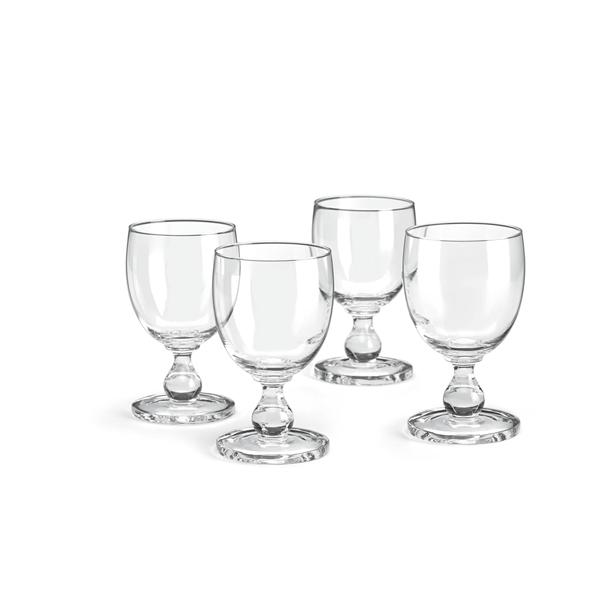 Hanna Clear Goblet S/4