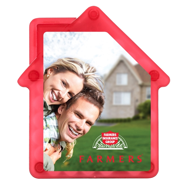 House Shaped Credit Card Mints - Sugar free peppermints in house shaped container.