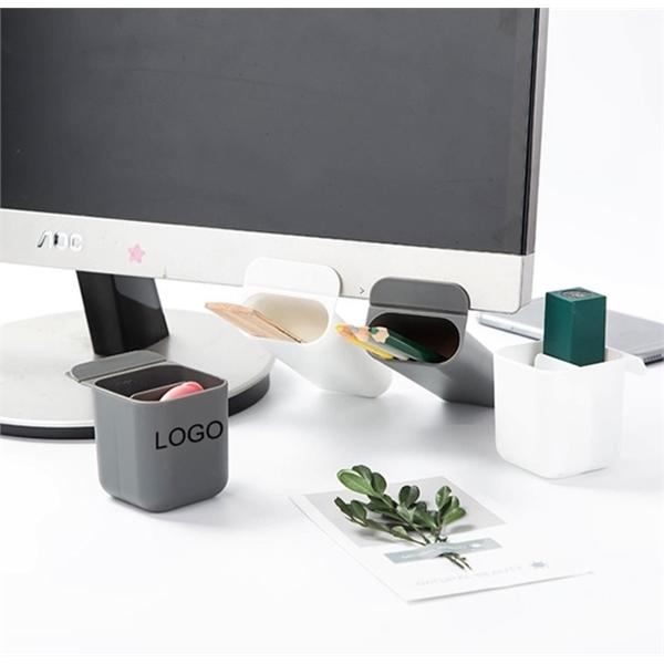Multi-fuction office desk pen holder