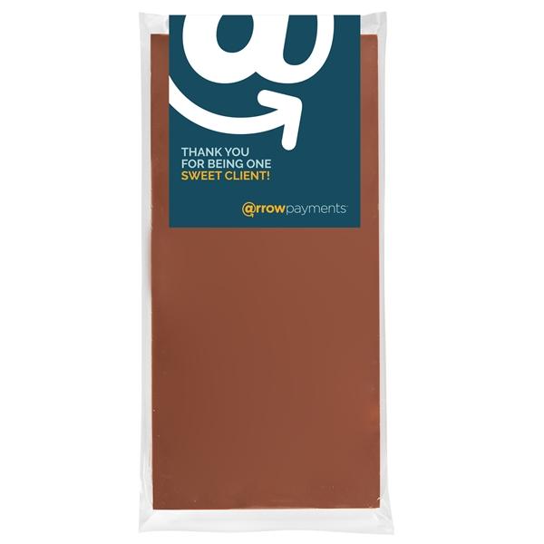 Belgian Chocolate Bars - No Topping - 3.5 oz