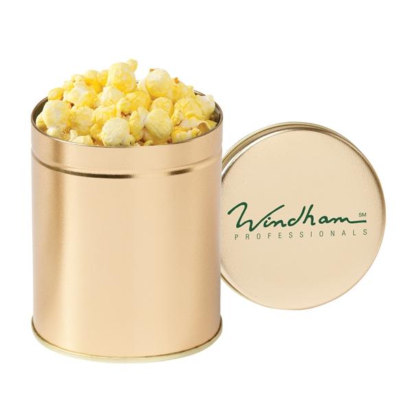 Quart Popcorn Tin / Butter Popcorn