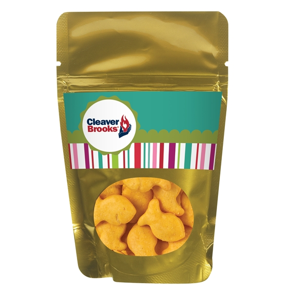 Resealable Window Pouch With Goldfish® Crackers