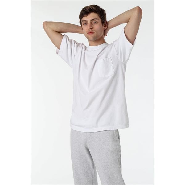 Men - 6.5 oz Short Sleeve Garment Dye Pocket T-Shirt