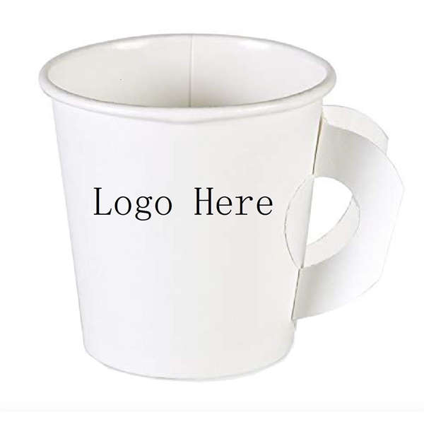 7oz Single-Sided Paper Hot Cup with Handle