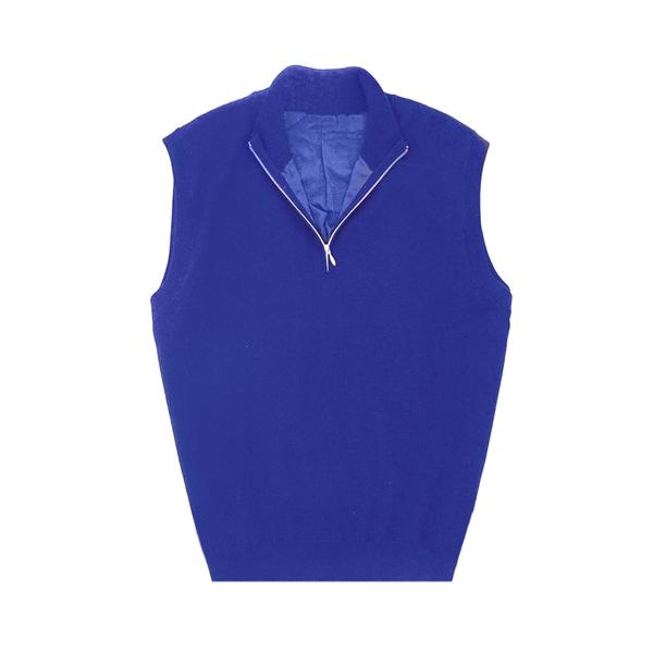 Men's MERINO Wind Block Half-Zip Vest