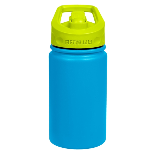 12 oz / 354 ml Kids Bottle w/Wide Mouth Straw Lid