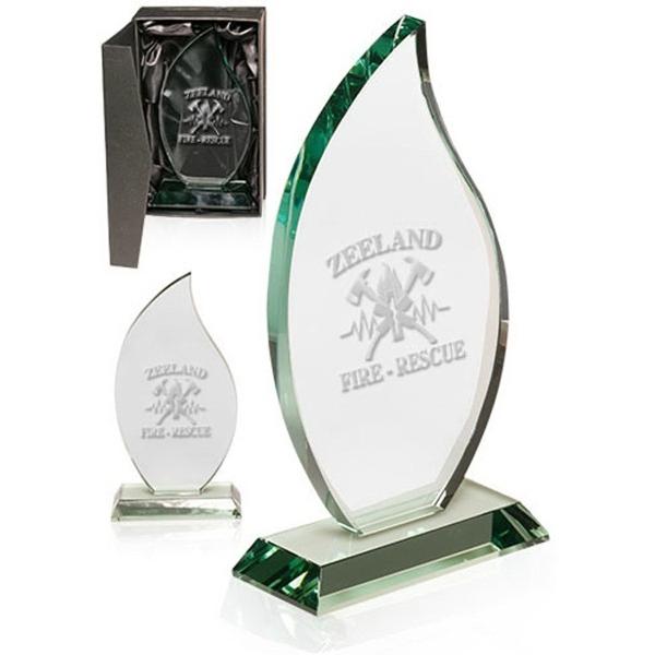 Jade Flame Glass Awards