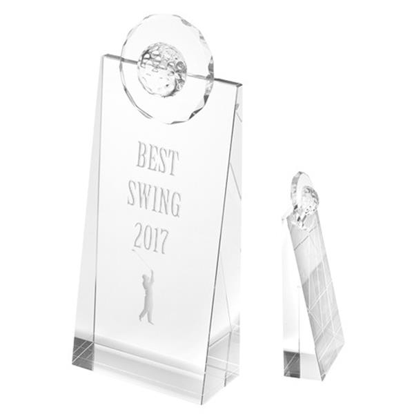 Golf Pinnacle Optical Crystal Awards