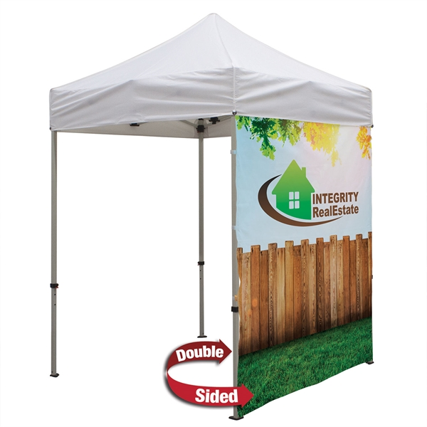 6' Tent Full Wall (Dye Sublimated, Double-Sided)