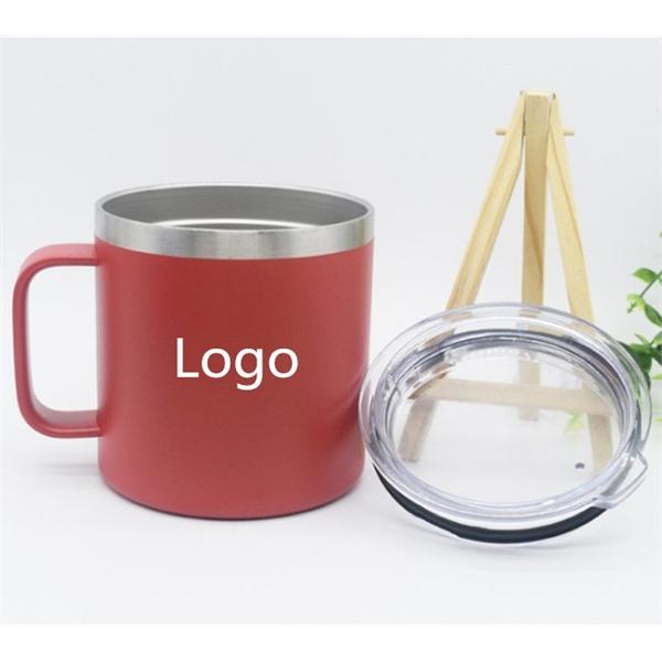 14 oz Stainless Steel Tumbler Mug With handle