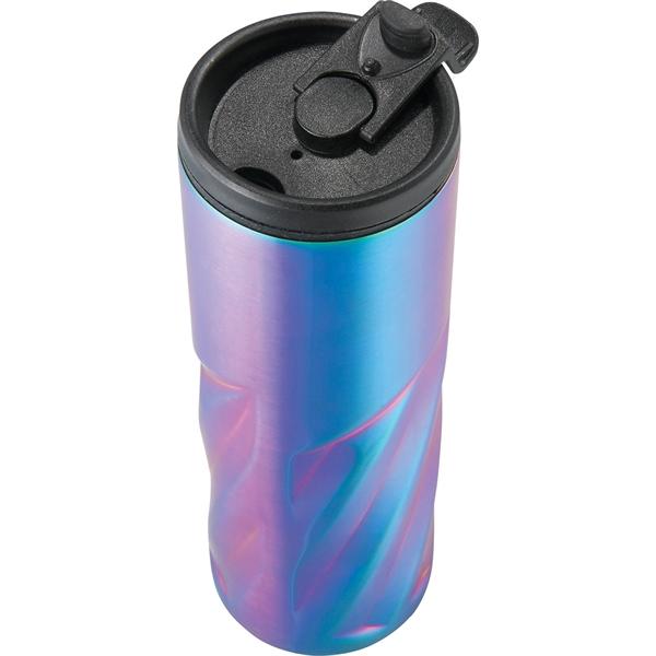 Slash Iridescent Vacuum Tumbler 16oz