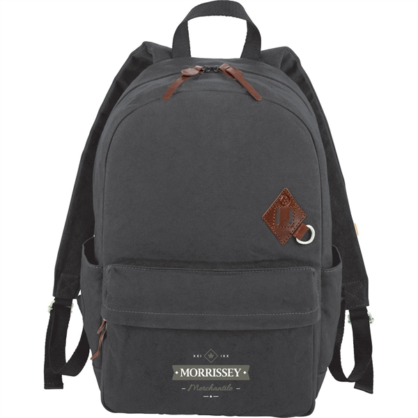 "Alternative® Basic 15"" Cotton Computer Backpack"