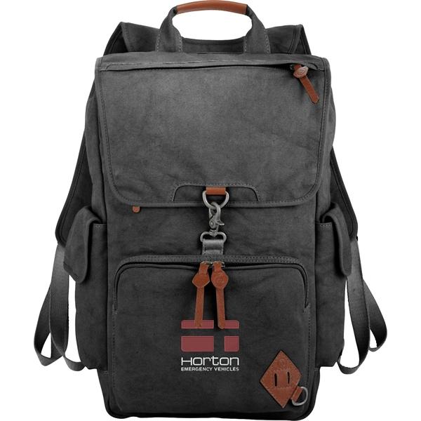 "Alternative® Deluxe 17"" Cotton Computer Backpack"