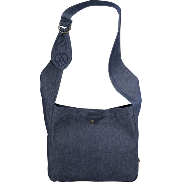 Alternative® Cotton Cross Body Slouch Tote