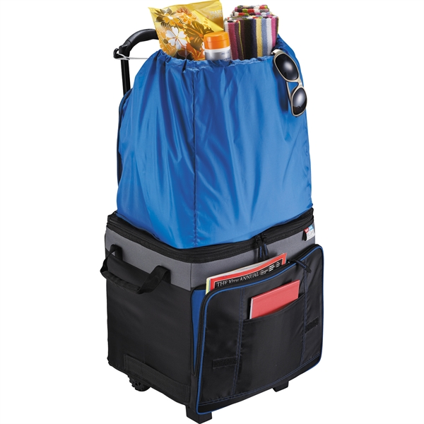 California Innovations® 50 Can Jumpsack Cooler - California Innovations® 50 Can Jumpsack Cooler