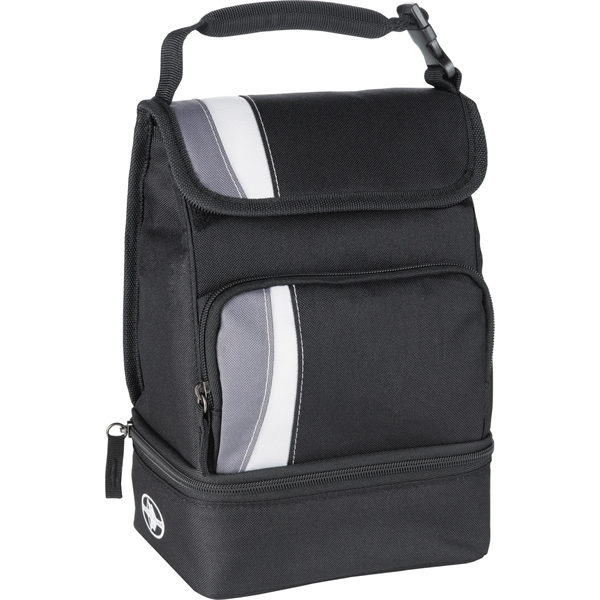 Arctic Zone® Dual Compartment Lunch Cooler - Arctic Zone® Dual Compartment Lunch Cooler
