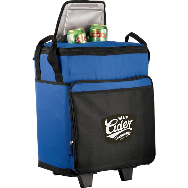 California Innovations® 50 Can Rolling Cooler - California Innovations® 50 Can Rolling Cooler