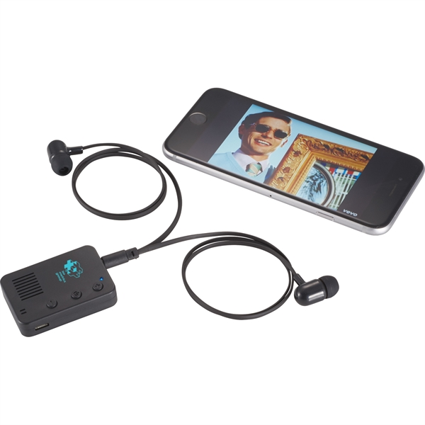 Bluetooth Receiver Speaker and Earbuds