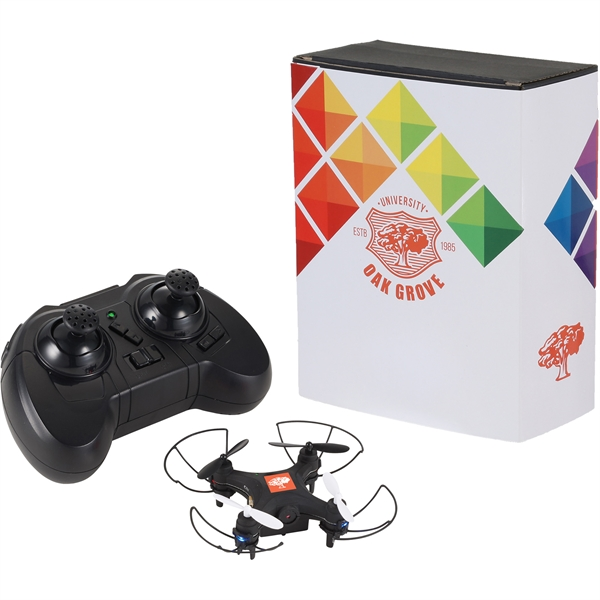 Mini Drone with Camera and Full Color Wrap