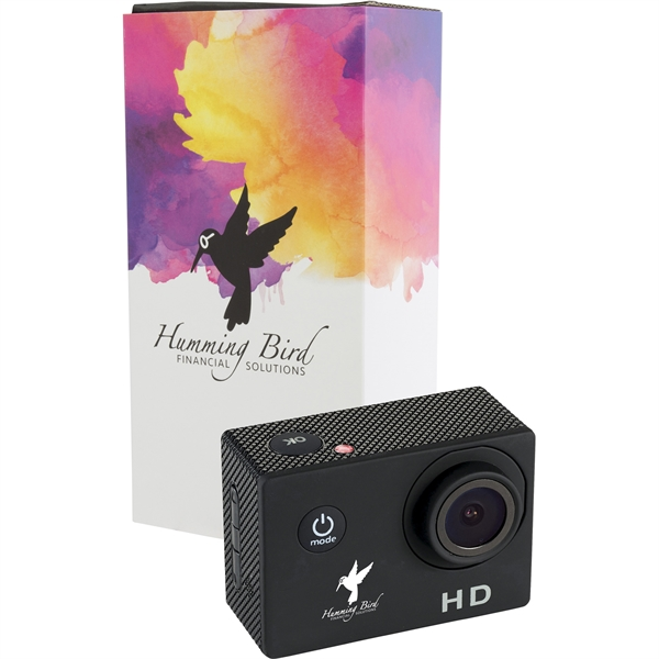 720P Action Camera with Full Color Wrap