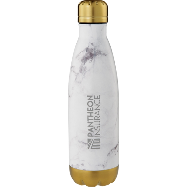 Marble Copper Vacuum Insulated Bottle 17oz