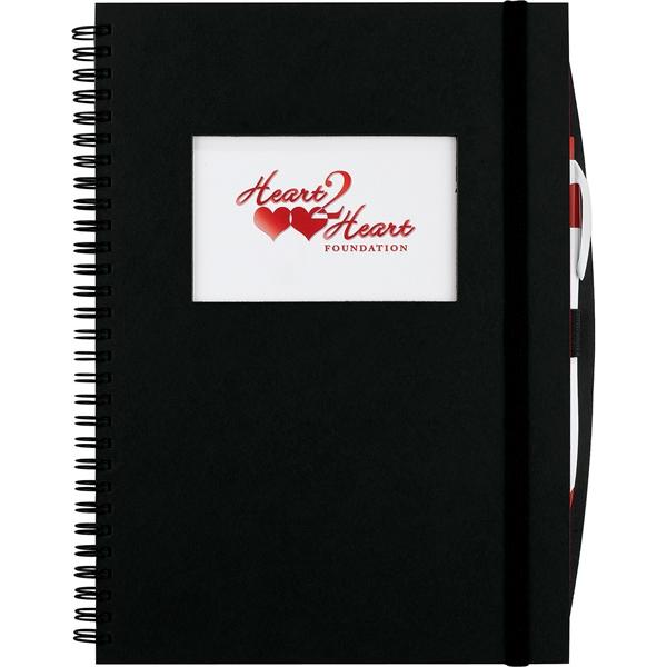 Frame Rectangle Large Hardcover Spiral JournalBook