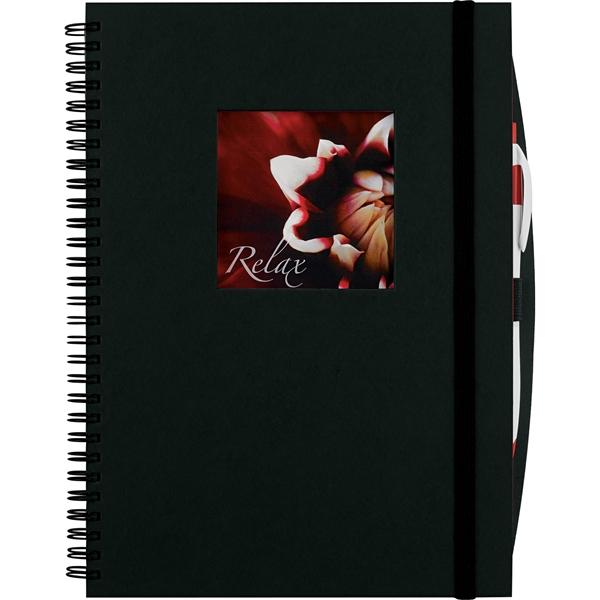 Frame Square Large Hardcover Spiral JournalBook®