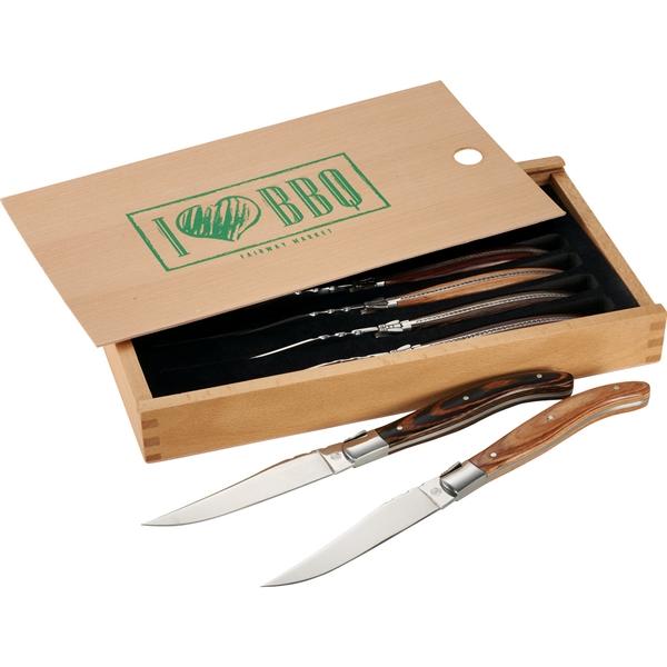 Laguiole® 6 Piece Array Steak Knife Set