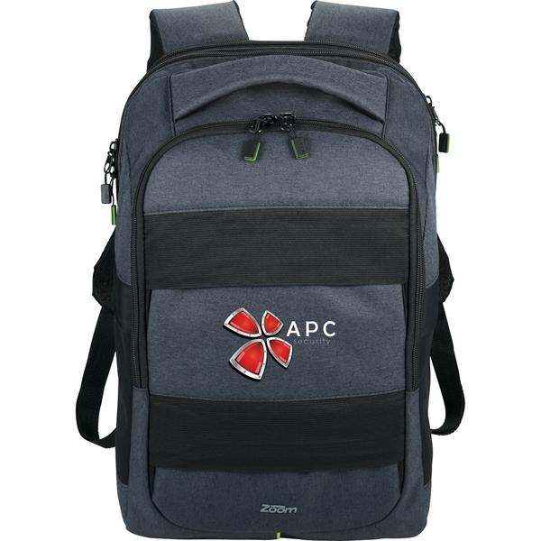 "Zoom Power Stretch TSA 15"" Computer Backpack"