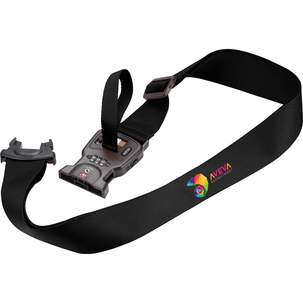 3-in-1 Luggage Strap (with Scale + TSA L