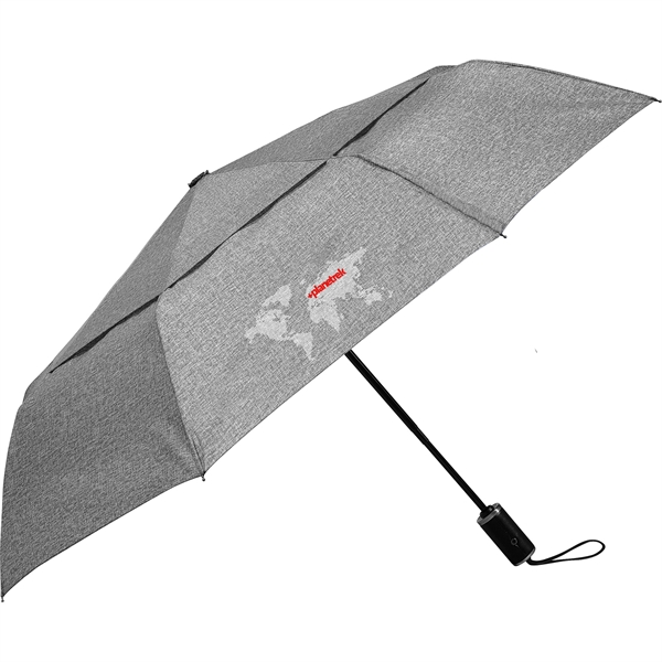 "46"" Cutter & Buck Heathered AOC Vented Umbrella"