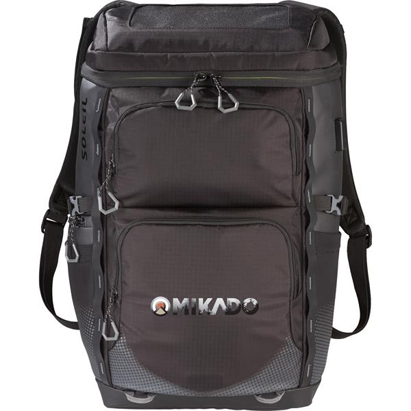 "Elevate Soleil 15"" Laptop Solar Panel Backpack"