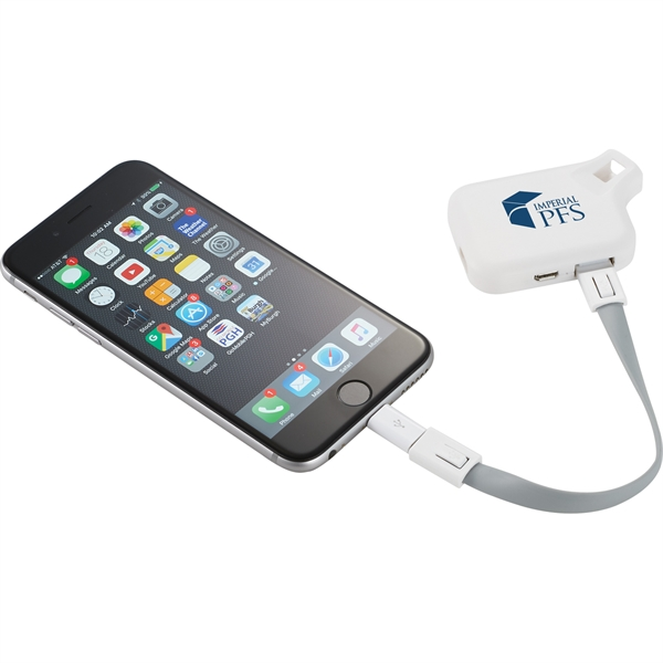 Emergency Power Bank with MFi 3-in-1 Cable